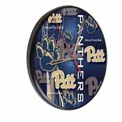 Pitt Digitally Printed Wood Clock by the Holland Bar Stool Co.