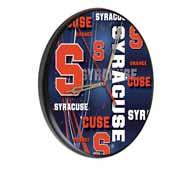 Syracuse Digitally Printed Wood Clock by the Holland Bar Stool Co.