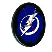Tampa Bay Lightning Digitally Printed Wood Clock by the Holland Bar Stool Co.