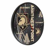 US Military Academy (ARMY) Digitally Printed Wood Clock by the Holland Bar Stool Co.