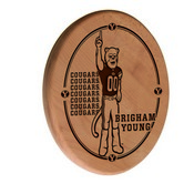 Brigham Young Laser Engraved Wood Sign by the Holland Bar Stool Co.