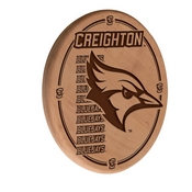 Creighton Laser Engraved Wood Sign by the Holland Bar Stool Co.