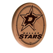 Dallas Stars Laser Engraved Wood Sign by the Holland Bar Stool Co.