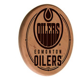 Edmonton Oilers Laser Engraved Wood Sign by the Holland Bar Stool Co.