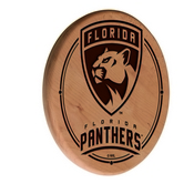 Florida Panthers Laser Engraved Wood Sign by the Holland Bar Stool Co.