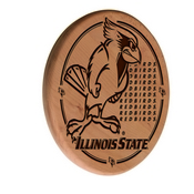 Illinois State Laser Engraved Wood Sign by the Holland Bar Stool Co.