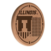 Illinois Laser Engraved Wood Sign by the Holland Bar Stool Co.