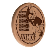 Iowa Laser Engraved Wood Sign by the Holland Bar Stool Co.