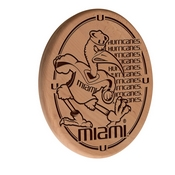 Miami (FL) Laser Engraved Wood Sign by the Holland Bar Stool Co.