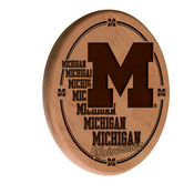 Michigan Laser Engraved Wood Sign by the Holland Bar Stool Co.