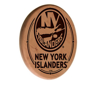 New York Islanders Laser Engraved Wood Sign by the Holland Bar Stool Co.