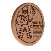 North Dakota Laser Engraved Wood Sign by the Holland Bar Stool Co.