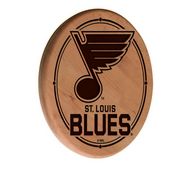 St Louis Blues Laser Engraved Wood Sign by the Holland Bar Stool Co.