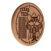 Texas Tech Laser Engraved Wood Sign by the Holland Bar Stool Co.