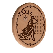 Texas A&M Laser Engraved Wood Sign by the Holland Bar Stool Co.