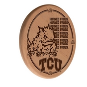 TCU Laser Engraved Wood Sign by the Holland Bar Stool Co.