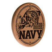 US Naval Academy (NAVY) Laser Engraved Wood Sign by the Holland Bar Stool Co.
