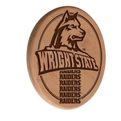 Wright State Laser Engraved Wood Sign by the Holland Bar Stool Co.