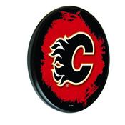 Calgary Flames Digitally Printed Wood Sign by the Holland Bar Stool Co.