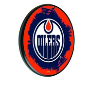 Edmonton Oilers Digitally Printed Wood Sign by the Holland Bar Stool Co.