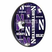 Northwestern Digitally Printed Wood Sign by the Holland Bar Stool Co.