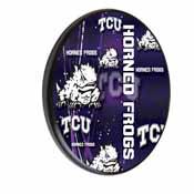 TCU Digitally Printed Wood Sign by the Holland Bar Stool Co.