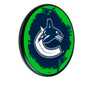 Vancouver Canucks Digitally Printed Wood Sign by the Holland Bar Stool Co.