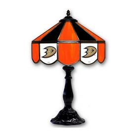 "ANAHEIM DUCKS  21"" GLASS TABLE LAMP"