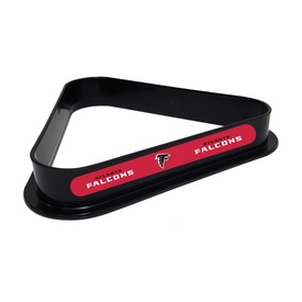 ATLANTA FALCONS PLASTIC 8 BALL RACK