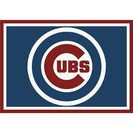 Chicago Cubs 4x6 Spirit Rug