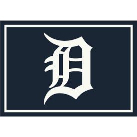 Detroit Tigers 4x6 Spirit Rug