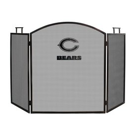 CHICAGO BEARS FIREPLACE SCREEN