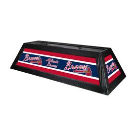 """Atlanta Braves 42"""" Billiard Lamp"""