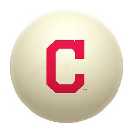Cleveland Indians Cue Ball