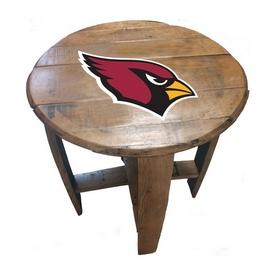 Arizona Cardinals Oak Barrel Table