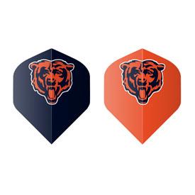 Chicago Bears Fan's Choice 10ctpk Dart Flights