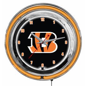 """Cincinnati Bengals 14"""" Neon Clock"""
