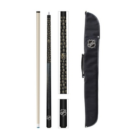 GOLDEN KNIGHTS CUE AND CASE COMBO