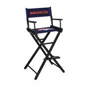 Denver Broncos Bar Height Directors Chair