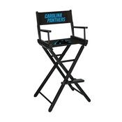 Carolina Panthers Bar Height Directors Chair