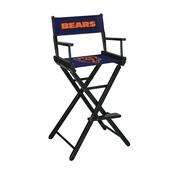 Chicago Bears Bar Height Directors Chair