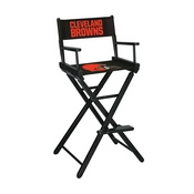 Cleveland Browns Bar Height Directors Chair