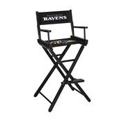 Baltimore Ravens Bar Height Directors Chair