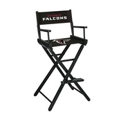 Atlanta Falcons Bar Height Directors Chair