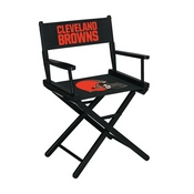 Cleveland Browns Table Height Directors Chair