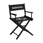 Baltimore Ravens Table Height Directors Chair
