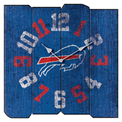 BUFFALO BILLS VINTAGE SQUARE CLOCK