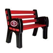 San Francisco 49Ers Park Bench