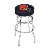 Cleveland Browns Chrome Bar Stool