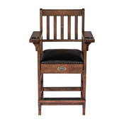 Imperial Premium Spectator Chair with Drawer, Whiskey